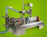 Одиночный головной жидкий горизонтальный тип пневматическая машина завалки фруктового сока