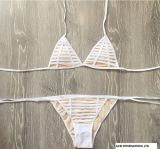 Горизонтальная нашивка сексуальное Бикини, Swimwear, рельс Бикини Balck и белизна