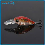 Hot Mini Swinger Crank Hard Fishing Lures Chine 35mm 3.8g Crankbait Bkk Crochet Profondeur 1.6-2m Trappe de pêche à la carpe