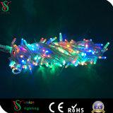 Cer RoHS Gummizeichenkette-Licht-kupferner Draht-Zeichenkette für im Freien