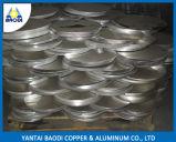 Het aangepaste Aluminium omcirkelt dun Plaat