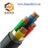 Силовой кабель изолированный XLPE, PVC обшивает электрический провод, 0.6/1kv