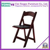 Chaise blanche de /Wedding de chaise de mariage de rondelle romantique/chaise pliage d'hôtel