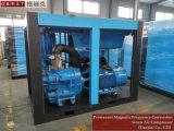 Multi/alta eficiencia de compresión de dos etapas de compresor de aire de tornillo