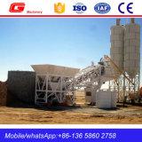 Usine de traitement en lots de mélange de béton volumétrique mobile pour le loyer (YHZS25)
