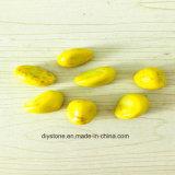 De gele Levering voor doorverkoop van de Kiezelsteen van de Cachou van China Cerammic