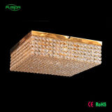 Luz de teto clara de cristal do diodo emissor de luz do quadrado do quarto do diodo emissor de luz do preço das ações