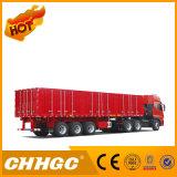 De Semi Aanhangwagen van de Omheining van Chhgc met 1800mm Zijgevel