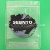 Sac zip-lock transparent/clair fait sur commande de PVC pour le module de sous-vêtements