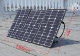 120W Painel Solar Dobrável para camping com gancho