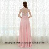 A élégant - ligne en arrière robe ouverte sexy de bal d'étudiants de robe de soirée de cru longue