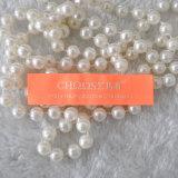 Etiqueta alaranjada brilhante personalizada fábrica do vestuário, etiqueta tecida