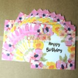 Impression de cartes de voeux de cartes postales de qualité