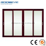 Isolation thermique personnalisée Portes en aluminium et fenêtres Portes coulissantes en aluminium