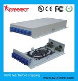 12 ports du panneau de raccordement SC à fibre optique