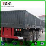3半車軸貨物貨物自動車のトレーラー50tの貨物トラックのトレーラー