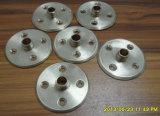 Piezas de precisión de torneado del CNC del plástico de encargo de ABS/POM/PP/PC/Acrylic que muelen que trabajan a máquina