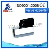 Mini robinet à tournant sphérique en laiton (YL228)