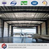 Sinoacme fabricante profesional de la estructura de acero hangar de aviones