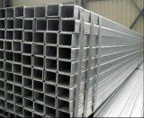 Tubo di costruzione galvanizzato del quadrato dell'acciaio del TUFFO caldo 50X50mm/tubo d'acciaio