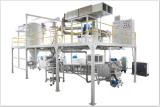machine de refroidissement de refroidisseur du tambour 200-250kg/H pour l'enduit de poudre