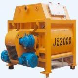 El equipo de construcción Js2000 obligatorio hormigonera