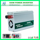 CC portatile 500W all'invertitore di potere dell'automobile di CA (QW-500MUSB)