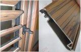 Las persianas de aluminio de madera veteada Ventana con persianas ajustables (BHA-BL09)