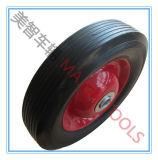 Roda de carrinho de carroça de brinquedo de borracha sólida de 6 polegadas