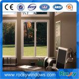 Champagne-Farben-Aluminiumfeld-horizontales gleitendes Fenster