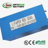 UPS de caja de plástico de 48V 80Ah batería de litio fosfato de hierro