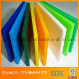 El panel plástico duro del plexiglás del acrílico Sheet/PMMA con diverso espesor
