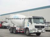 Caminhão do misturador de HOWO 6X4/misturador concreto para a venda