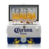 Koelere Doos van het Bier van het Metaal van de corona de Extra