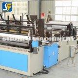 Máquina eléctrica automática el rebobinar del motor de la fábrica de los papeles higiénicos