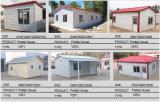 Casa prefabricada ligera de la estructura de acero