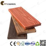 Substitutos de madeira crua Revestimento compacto Revestimento de piso ao ar livre à prova d'água