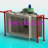 Manual de buen precio el stand de revestimiento de metal con la norma ISO9001