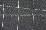 Tessuto del plaid di T/R tinto filato, 63%Polyester 34%Rayon 3%Spandex, 245GSM