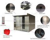 De Roterende Oven van het gas voor de Capaciteit 100kg/H van de Koekjes van het Brood met 32 Dienbladen die Oven met de Bevochtiging van de Stoom bakken