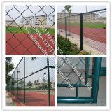 Grüne Farbe PVC-überzogenes Kettenlink-Ineinander greifen (R-GHW)