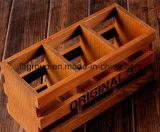 Vintage populares de alta qualidade Caixa de madeira sólida personalizados para embalagens