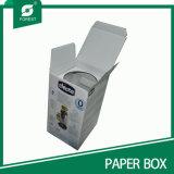 Rectángulo del sostenedor de botella del papel acanalado