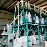 Кукуруза служившем мельницей Posho обрабатывающего станка в Африке