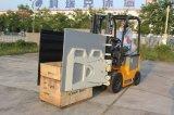 Chariot elétrico Forklift da bateria de 1.5 toneladas com braçadeira da caixa