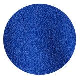 塗られる青いしわの乳液のやしを搭載する10のゲージの黄色いTcによって編まれる手袋