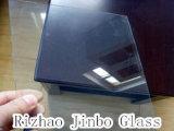 4mm 매우 두꺼운 낮은 철 플로트 유리, 4에서 19mm 간격, 매우 명확한 유리, 높은 투과율 (JINBO)