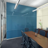 Verre peint décoratif pour la décoration de bureau et de hall
