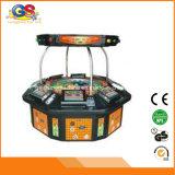 8 asientos Automatizado Play Casino Juego Suministros Electrónicos vídeo Ruleta Máquina