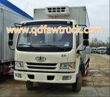 FAW 3-5 toneladas de CE Standard Van Vehicle, carro cloesed FAW del rectángulo